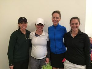 6th place team: Emilie Cox, Rachel Fridhandler, Laura Dunnigan and Heather Richardson